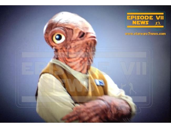 L'Ammiraglio Ackbar in Star Wars 7