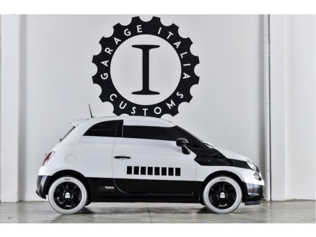 La speciale 500e creata da Garage Italia Customs