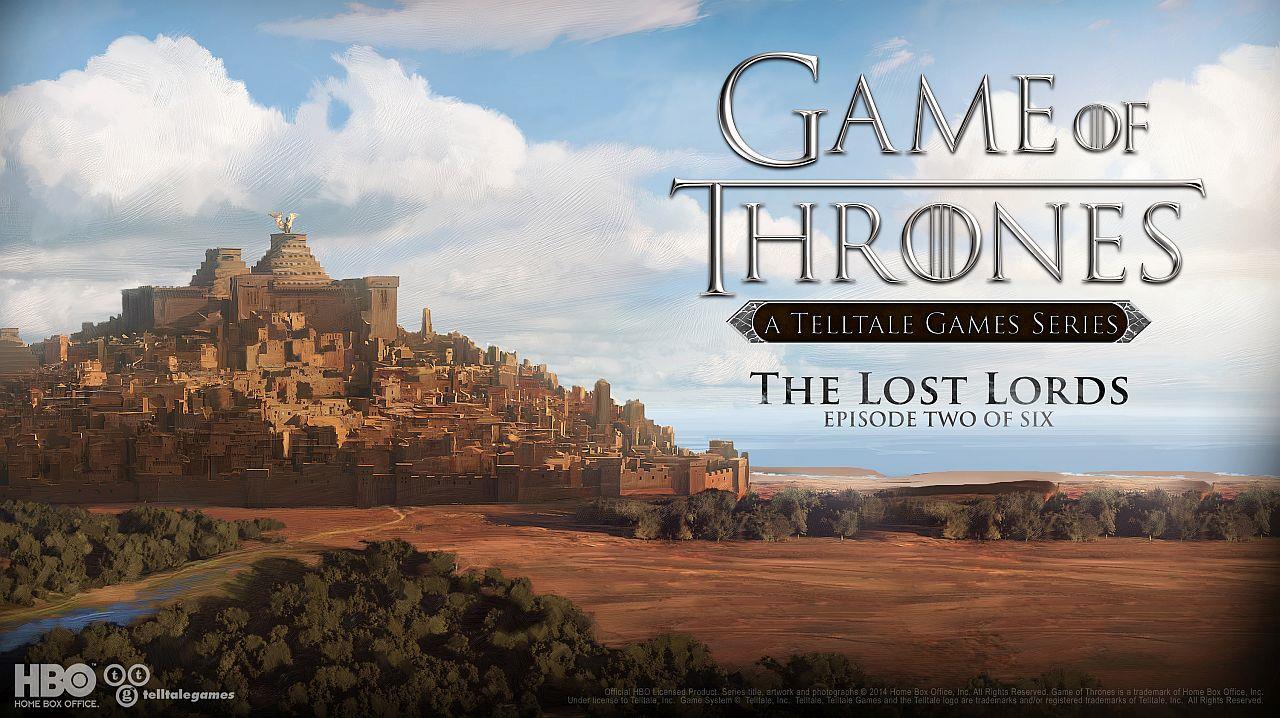 Poster di presentazione di Game of Thrones, The Lost Lords