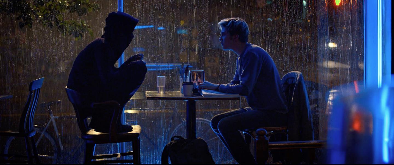 Una scena tratta dal film Death Note - Il quaderno della morte