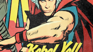 Billy Idol come se fosse un supereroe Marvel