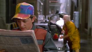Una scena tratta dal film Ritorno al Futuro