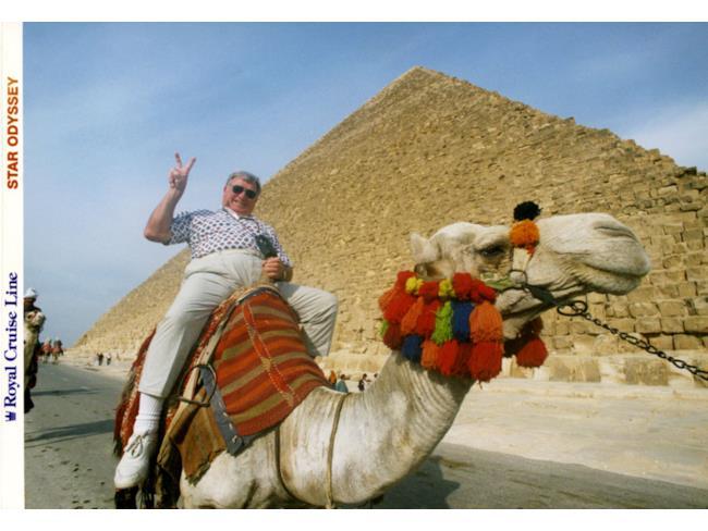 Orrendi prospettive per una foto vacanza d'Egitto