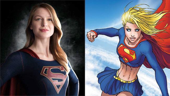 Melissa Benoist sarà Kara nella nuova serie TV di Supergirl