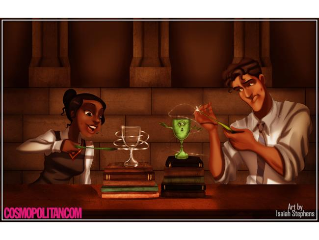La Principessa Tiana a Hogwarts