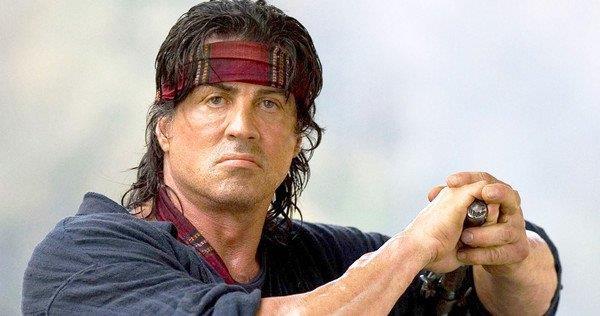 Sylvester Stallone è Rambo