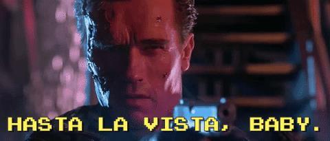 La celebre frase del Terminator buono in Terminator 2 - Il giorno del giudizio