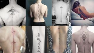 Tatuaggi per la spina dorsale, i più belli per la tua schiena