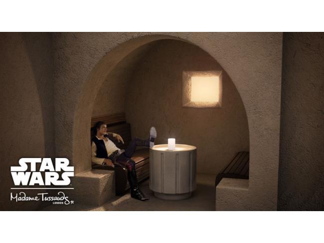Han Solo nella concept art per la mostra di Madame Tussauds