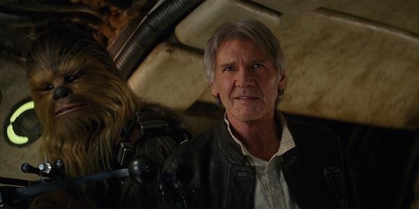 Harrison Ford alias Han Solo in Star Wars