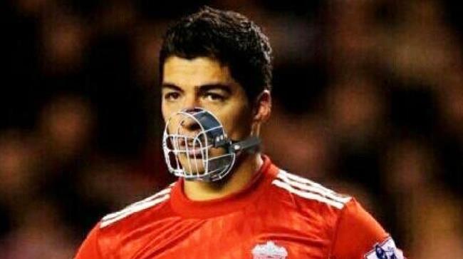 il calciatore uruguaiano Suarez