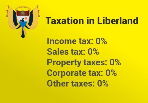 Le tasse nello stato di Liberland