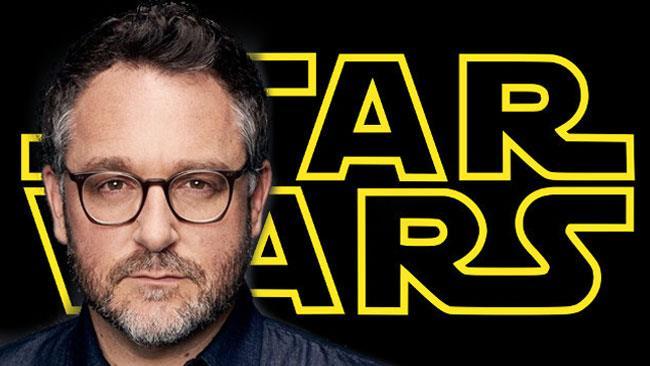 Colin Trevorrow e il logo ufficiale di Star Wars