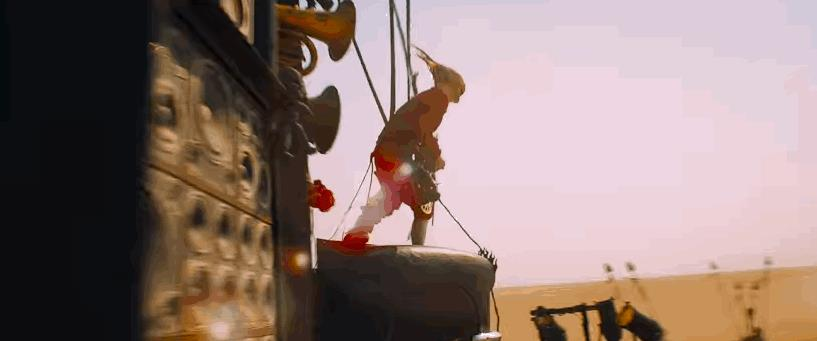 Una scena con protagonista il Doof Warriror