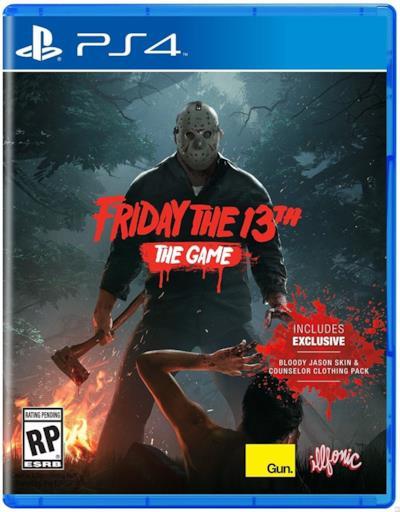 Jason Voorhes nella copertina del gioco