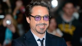 L'attore Robert Downey Jr. a una premiere