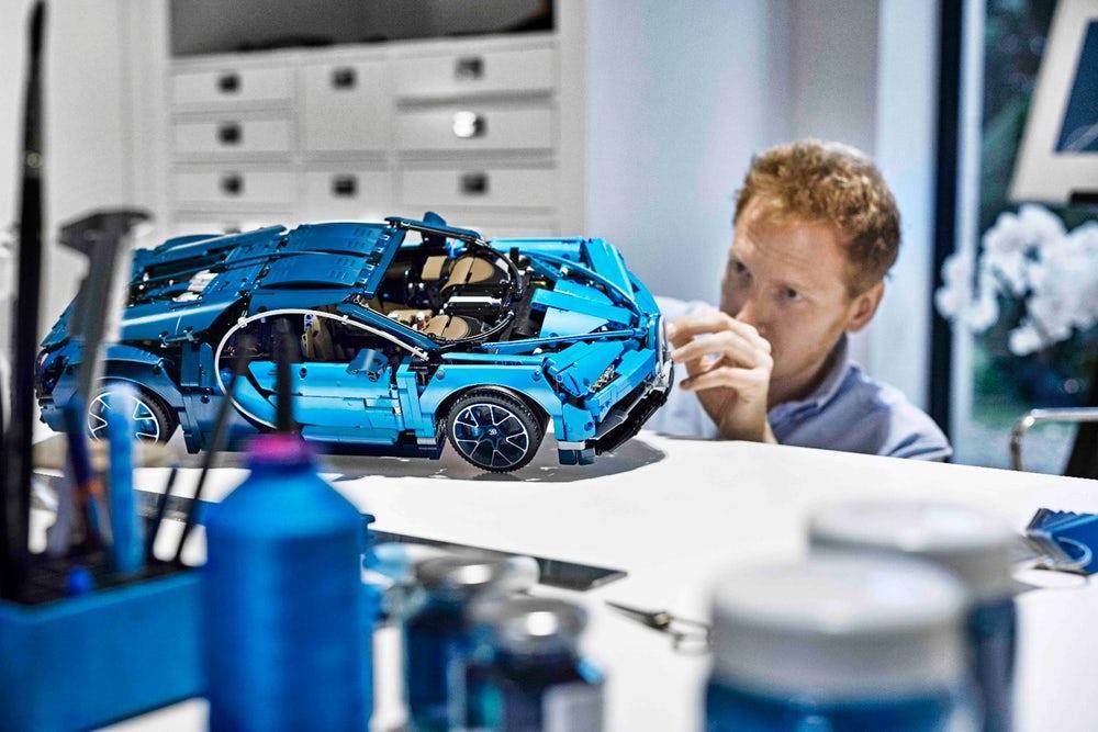 Bugatti Chiron aspetto