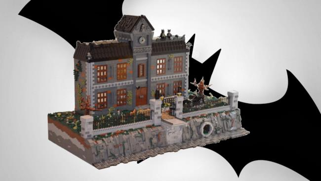 L'Arkham Asylum ha richiesto un anno di progettazione e tre mesi di costruzione