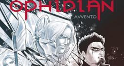 Dettaglio della copertina di Ophidian - Avvento