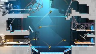 Uno screenshot del nuovo titolo dedicato a Portal