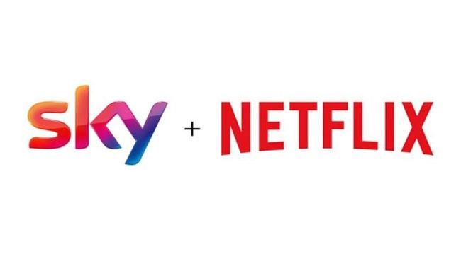 Sky e Netflix