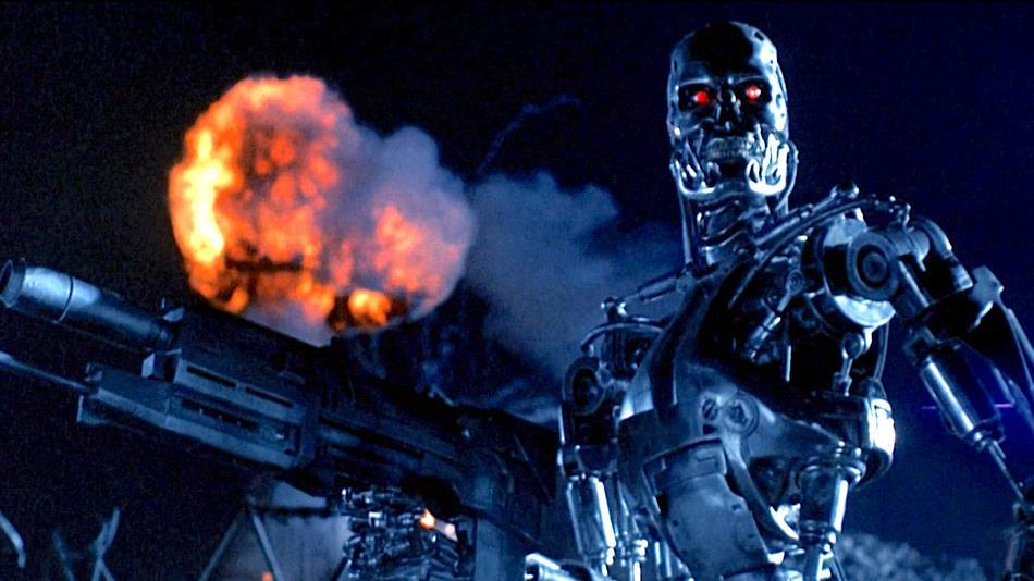 Una scena del film Terminator 2 - Il giorno del giudizio