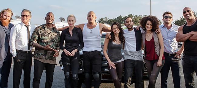 Il cast di Fast & Furious 8