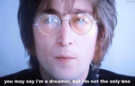 GIF John Lennon