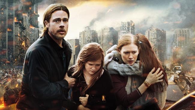Brad Pitt porta la sua famiglia in salvo dagli zombie
