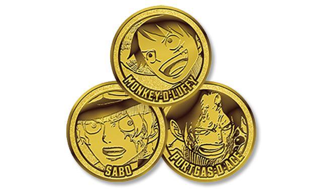 I dobloni premio del contest che si terrà al Lucca Comics&Games