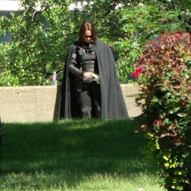 Winter Soldier (Sebastian Stan) nella prima immagine dal set di Capitan America: Civil War