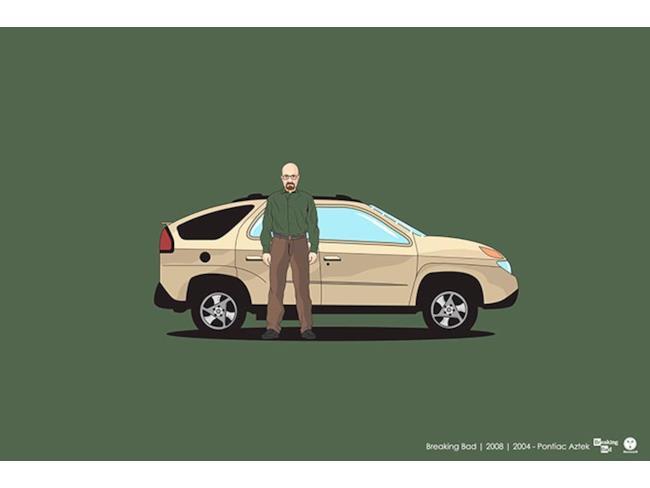 L'auto della serie Breaking Bad
