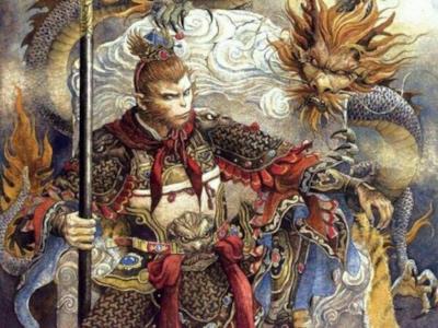 Il re scimmia Sun Wukong