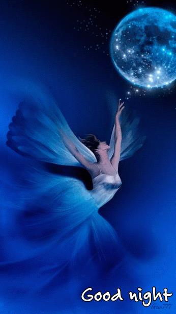 Una ballerina che regge la Luna