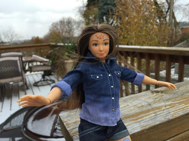La bambola Lammily Doll