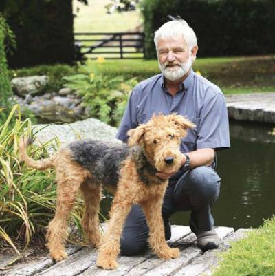 Barry Cox e il suo cane