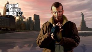 Il protagonista di GTA 4 con alle spalle la città