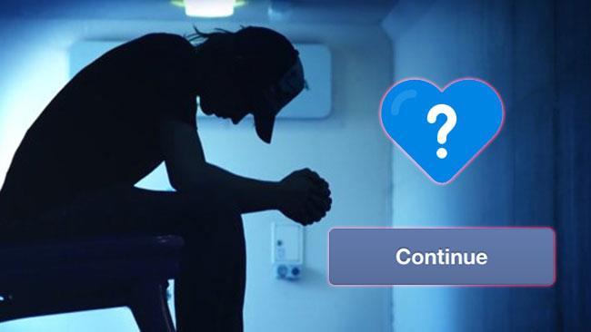 Facebook ti chiede se vuoi continuare a vivere