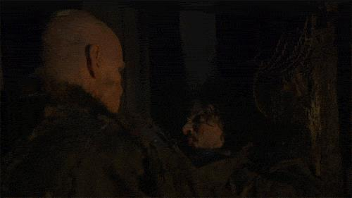 Jon Snow uccide un Bruto