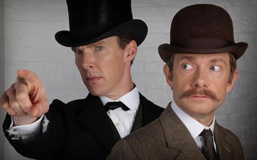 Prima immagine dello special di Sherlock