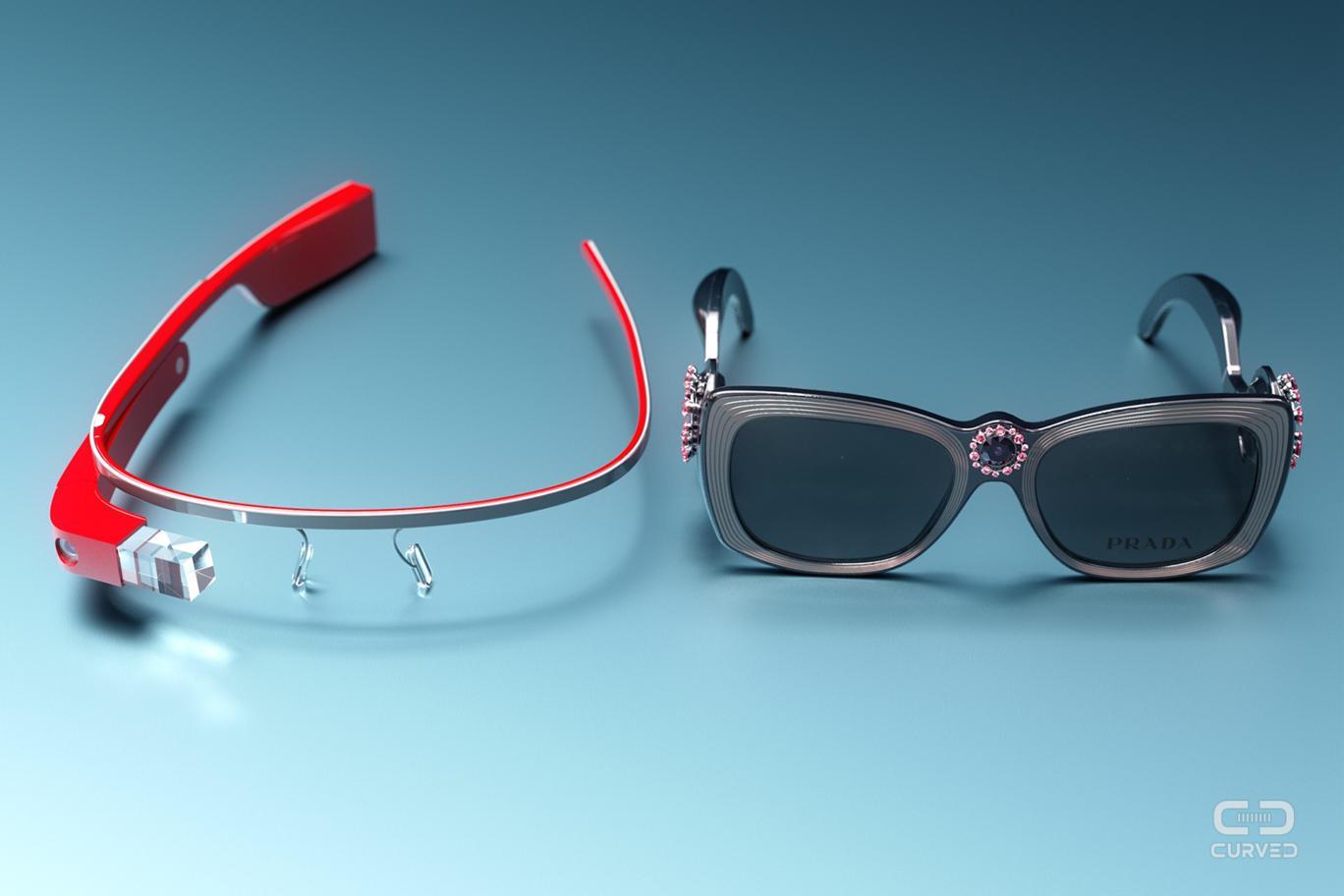 Prada Google Glass e Google Glass