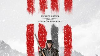 Il character poster di The Hateful Eight con Michael Madsen
