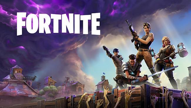 Un'immagine promozionale dedicata a Fortnite