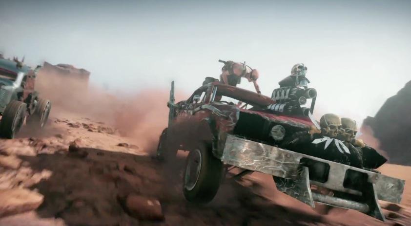 Screenshot dal videogame Mad Max