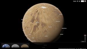 Ecco un pianeta all'interno di Google Maps!