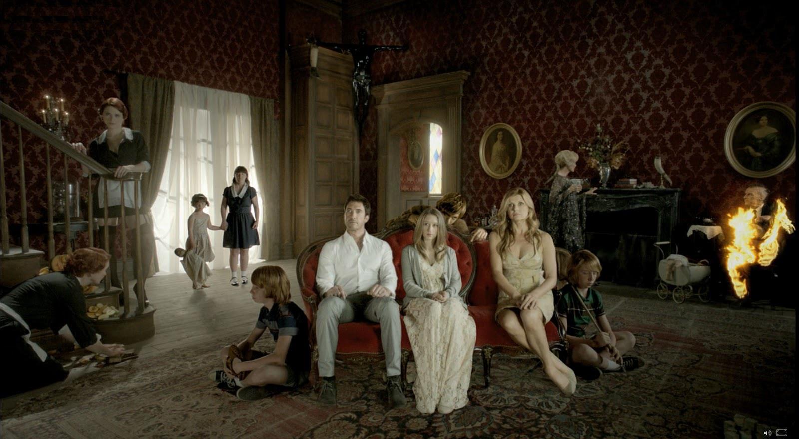 Il cast della prima stagione dello show American Horror Story