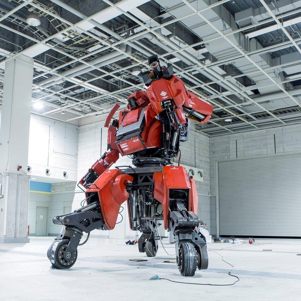 Il robot Kuratasu in posa come mostrato su Amazon
