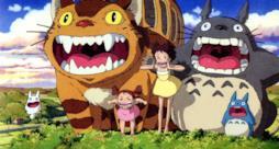 Satsuki e Mei in una scena de Il mio vicino Totoro