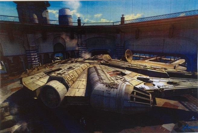Concept della navetta di Star Wars 7