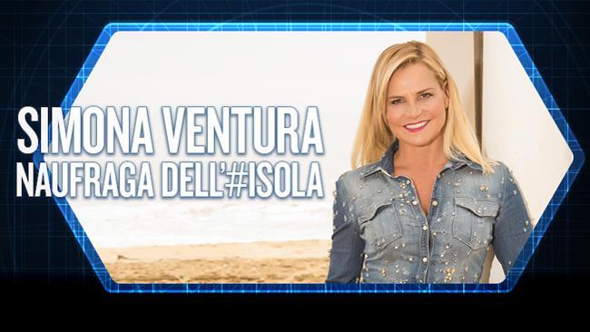 Simona Ventura, naufraga all'Isola dei Famosi 2016